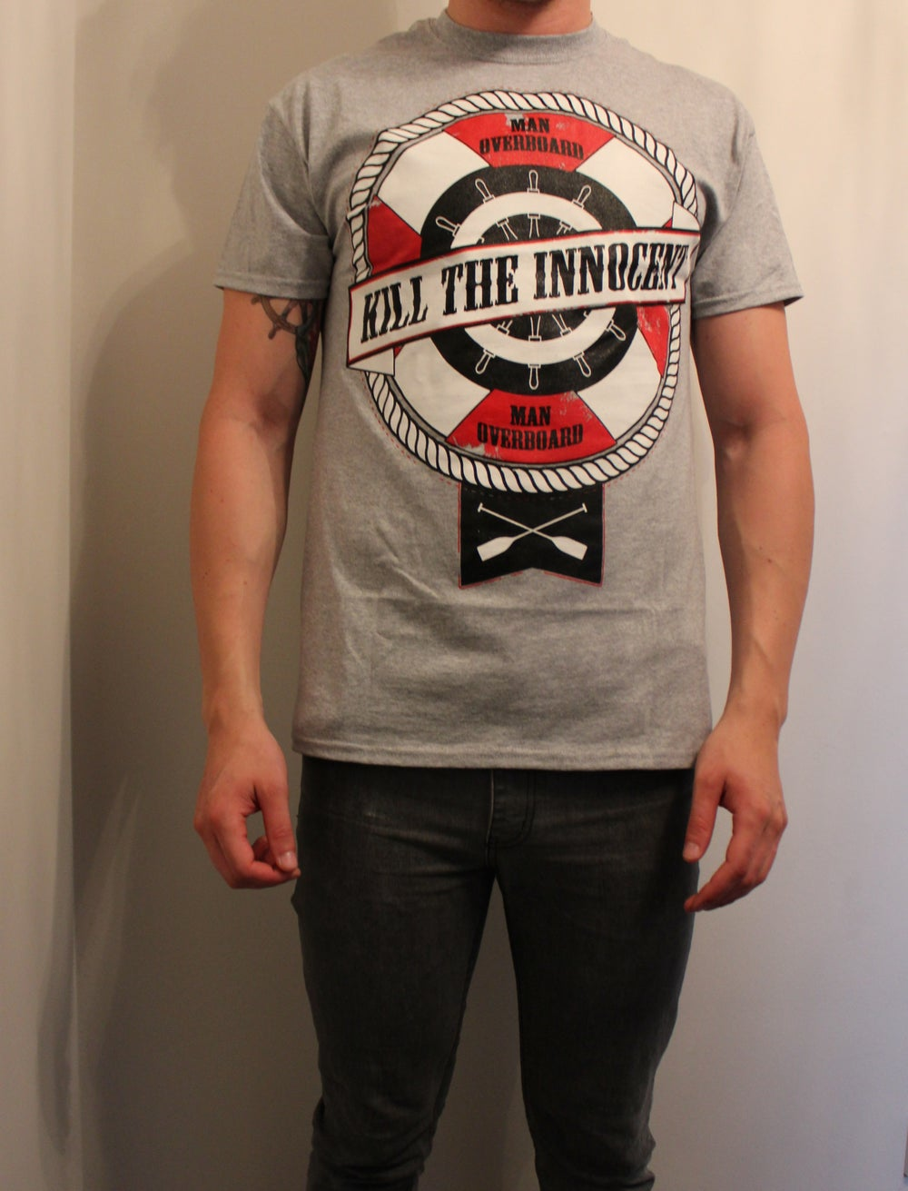 Image of Kill The Innocent - Man Over Board Tee