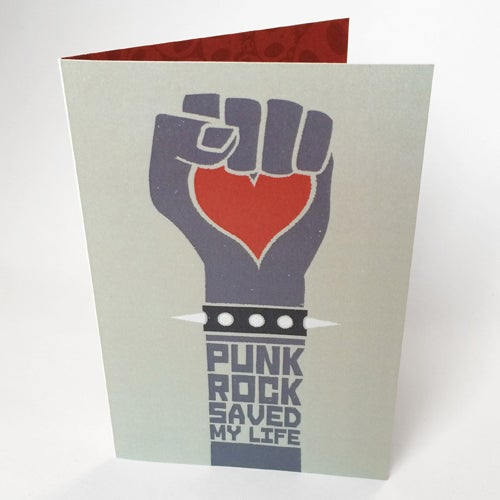 Image of Punk Rock - Card