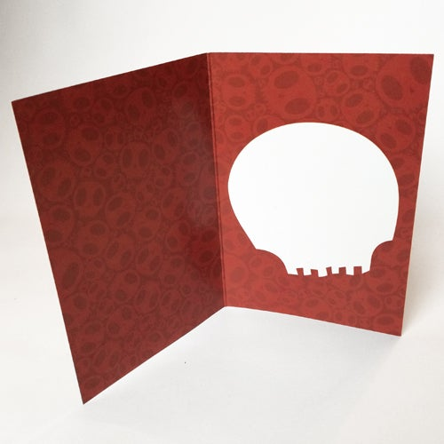 Image of Heart of Skulls - Card