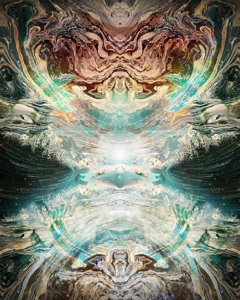 """Image of Ocean Blast 8"""" x 10"""" Print"""