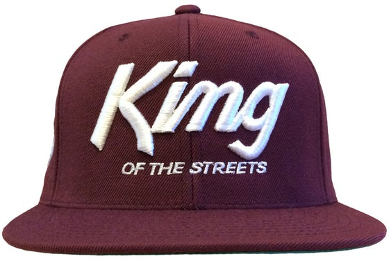 Image of Kings Snapback Hat  | BURGUNDY