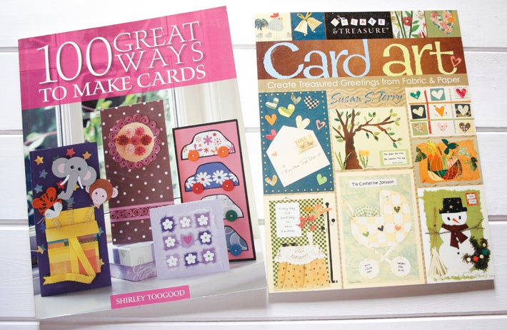 Image of 100 Great ways to make cards + Card Art