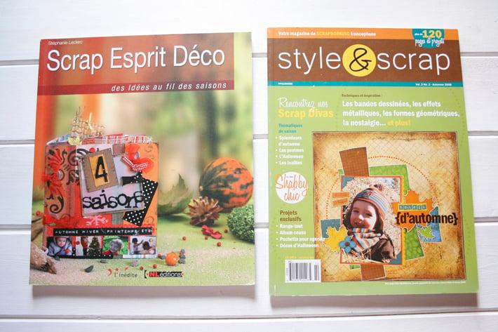 Image of Scrap Espirit Deco + Style & Scrap