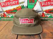 Image of Old Style Embassy 5 Panel Hat - Olive