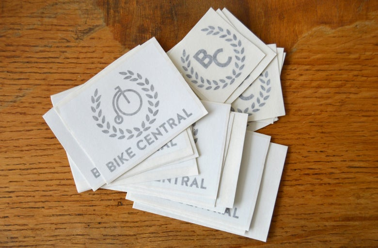 Image of Bike Central Sticker Pack