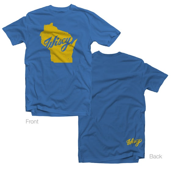Image of Wiscy Tee in Vintage Royal