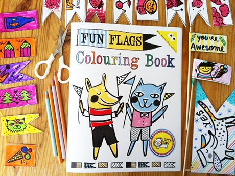 Image of Fun Flags Colouring Book