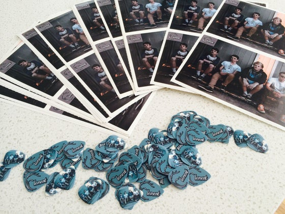 Image of Element Picks & Stickers!