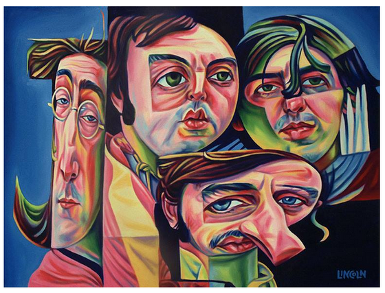 Image of Beatles Print