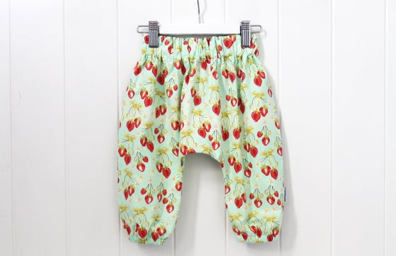 Image of Sweet Strawberry - Boho Harem Pants