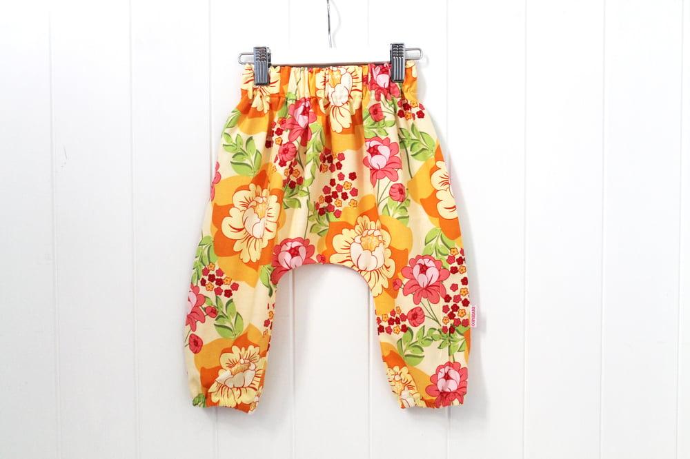 Image of Hippie Floral - Boho Harem Pants