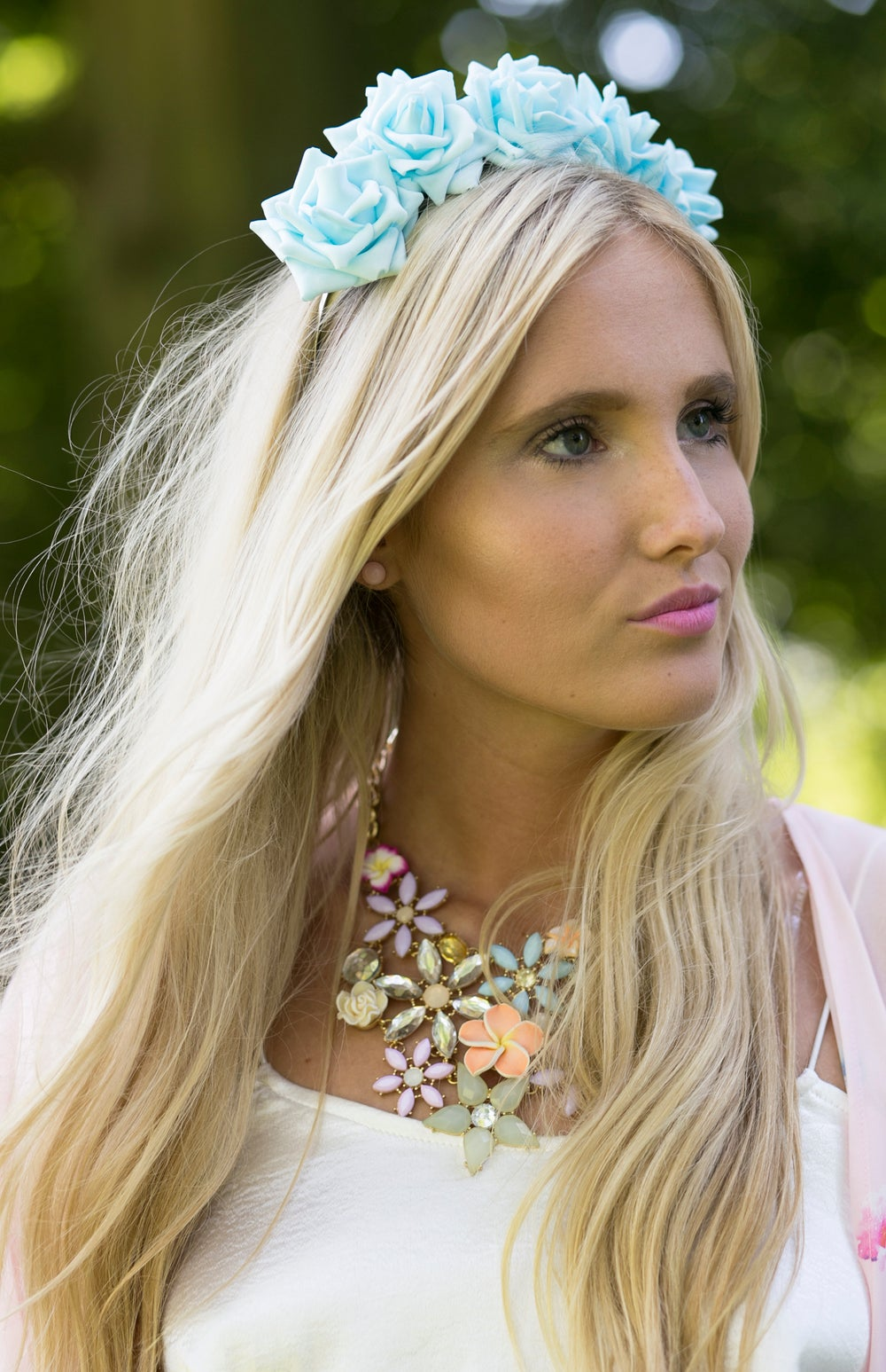 Image of Wild Rose Crown Aqua