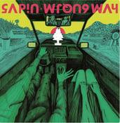 "Image of AZ014 : SAPIN debut LP : ""WRONG WAY"""