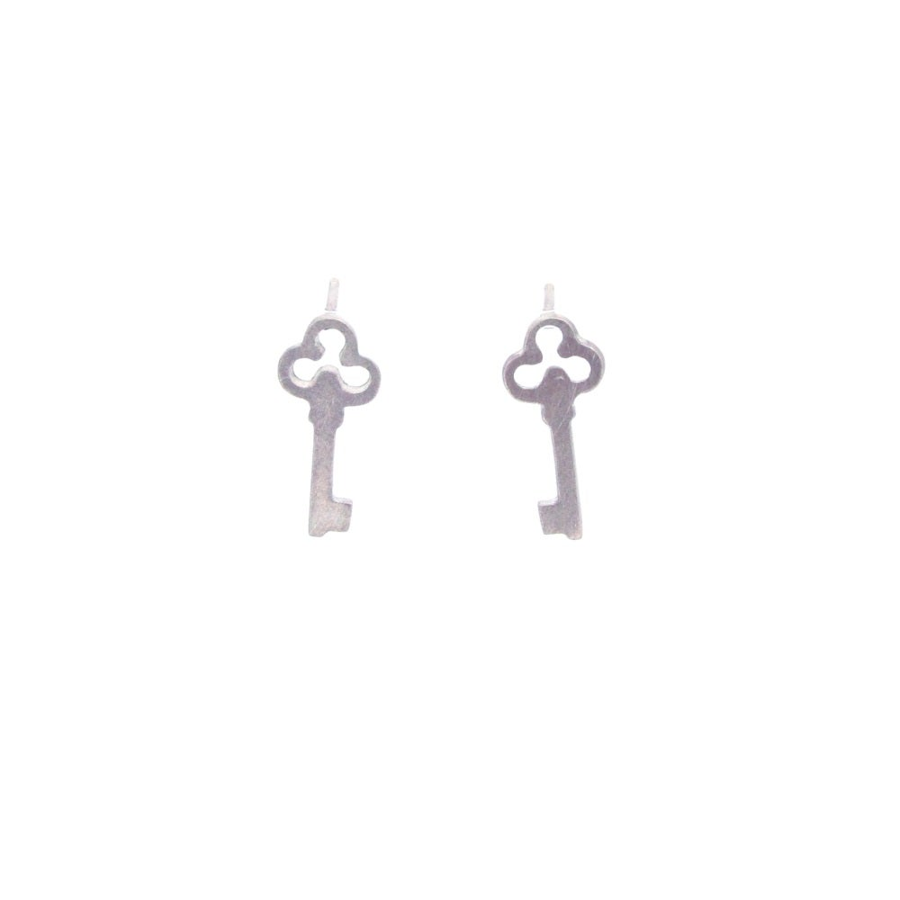 Image of {NEW}Wonderland Key earrings