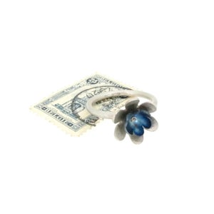 Image of Springtime Double Forget-me-not flower ring