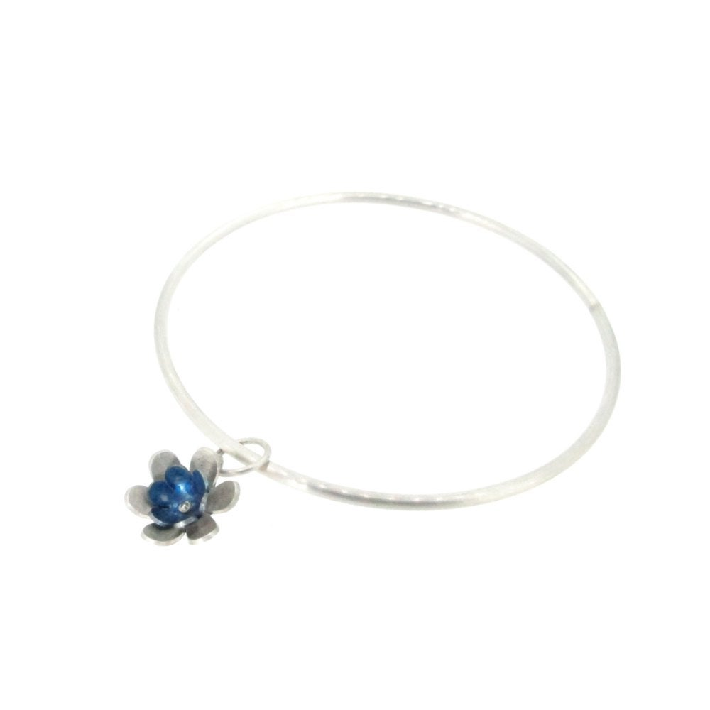 Sian Bostwick Jewellery Forget-Me-Nots Circlet Brooch
