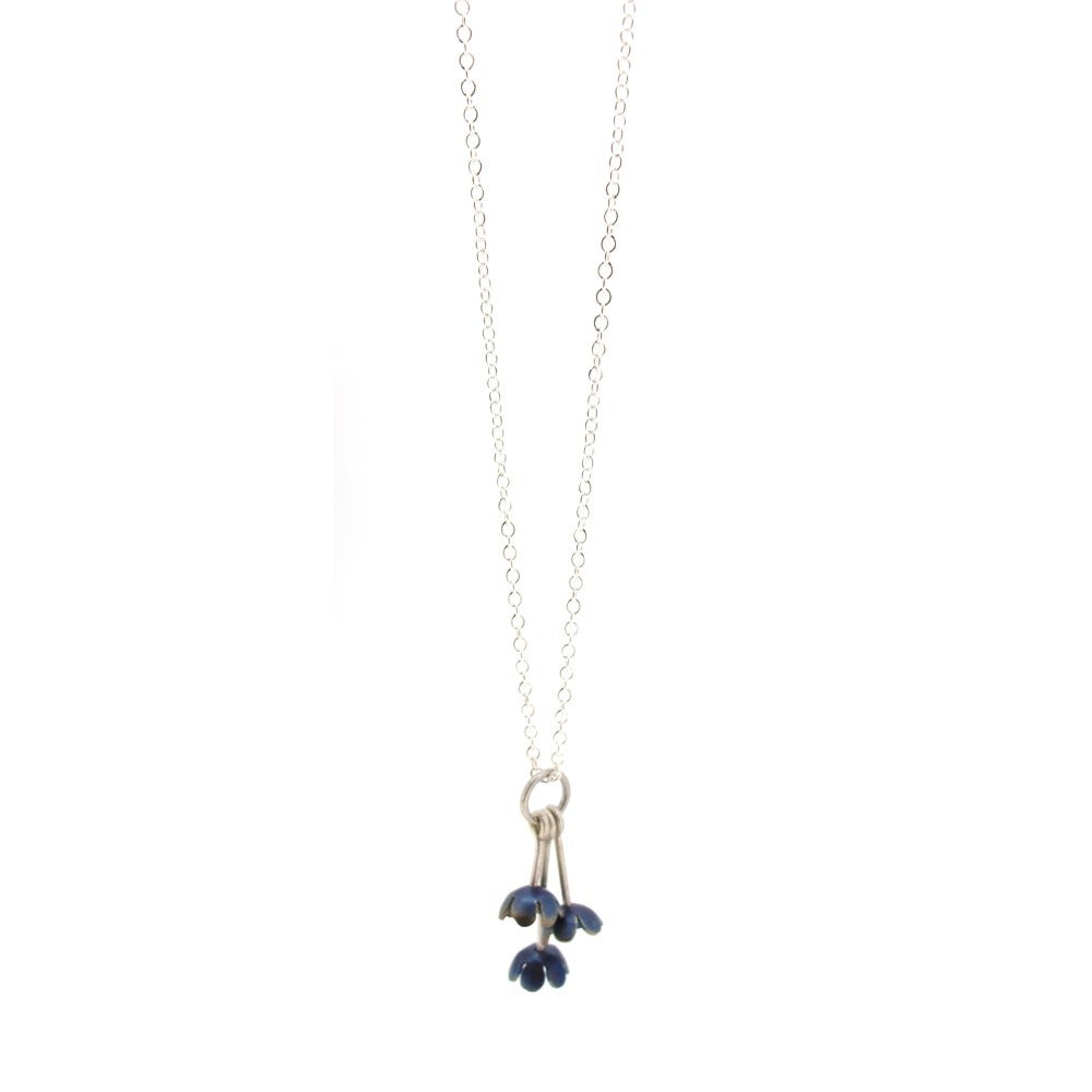 Image of {NEW} Springtime Forget-me-not charm pendant