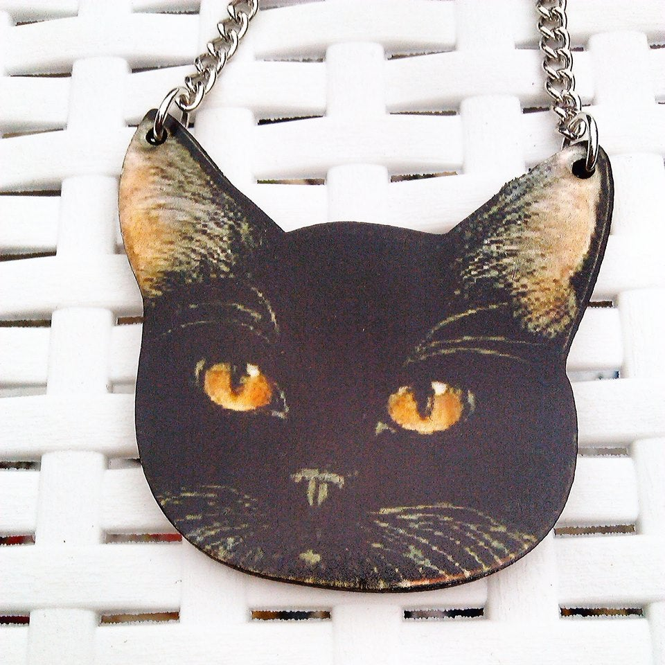 Image of Cute Kitty Necklace