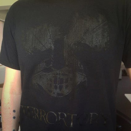 """Image of T-shirt """"City of Ghosts"""" black"""