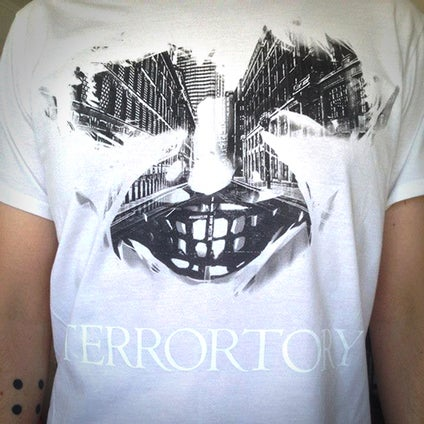 "Image of T-shirt ""City of Ghosts"" white"