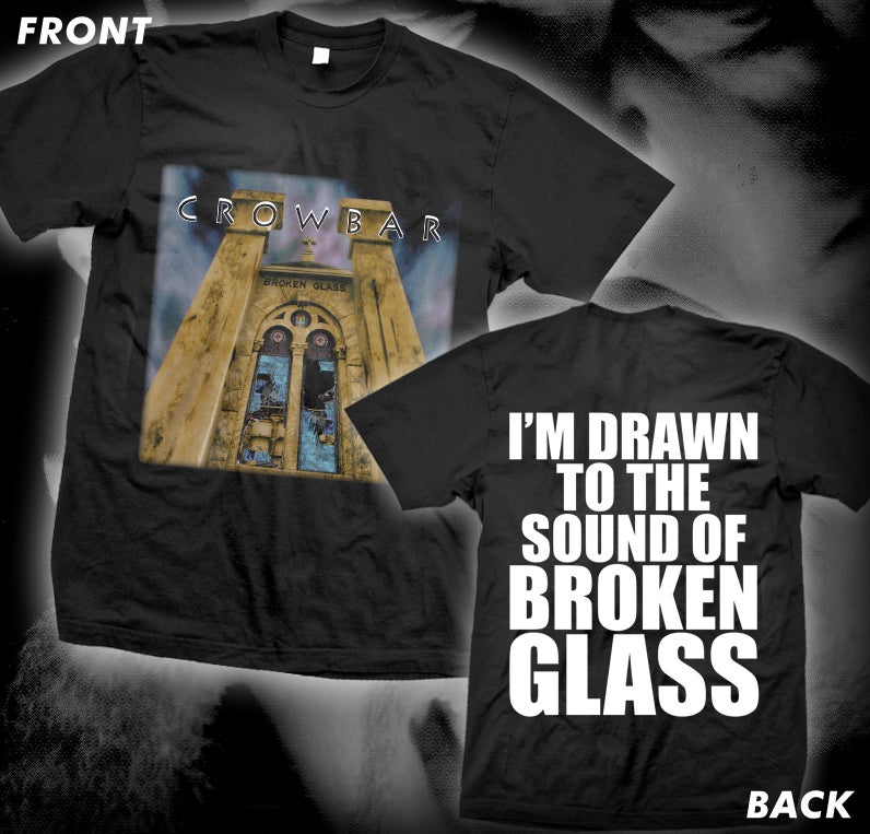 "Image of CROWBAR ""BROKEN GLASS"" SHIRT"