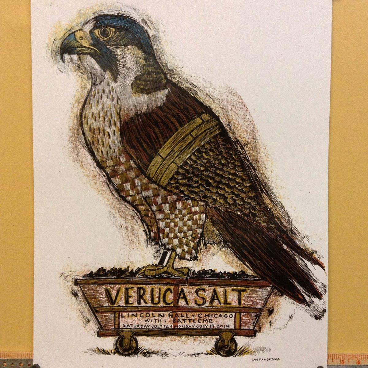Veruca Salt Chicago posters