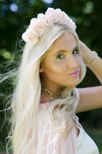 Image of Lilah Baby Pink Crown