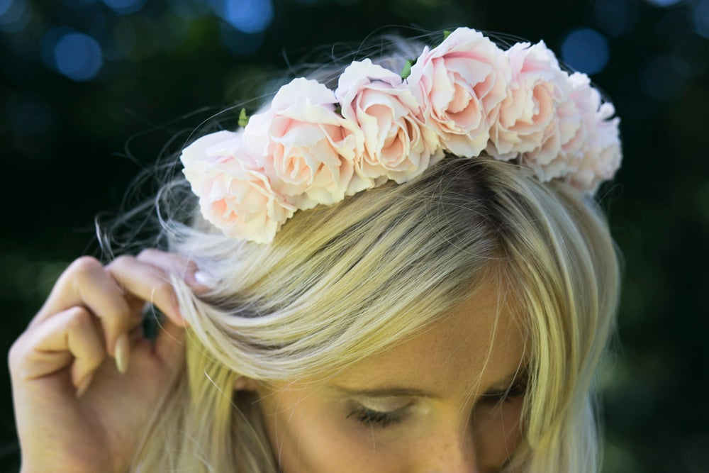 Image of Lilah Baby Pink Crown