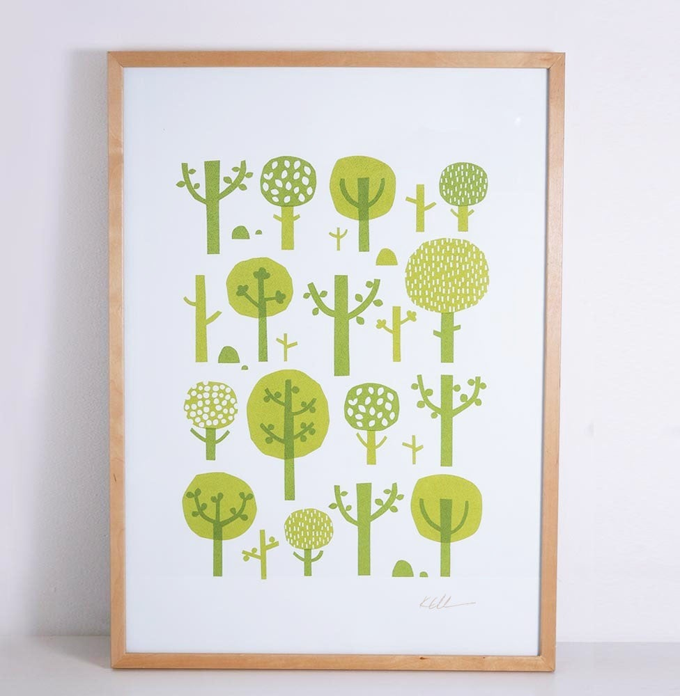 Image of Limited edition Tree screenprint