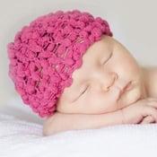 Image of  Strawberry Popcorn Newborn Boutique Hat