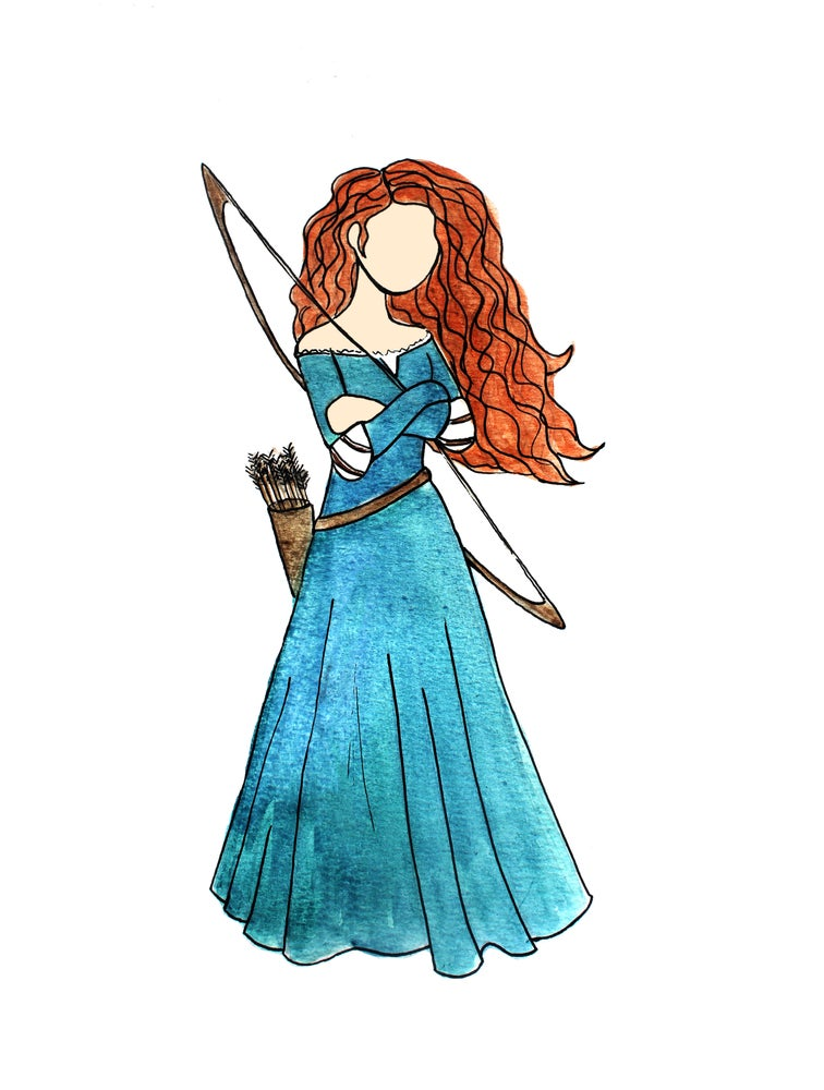 Image of Merida Print