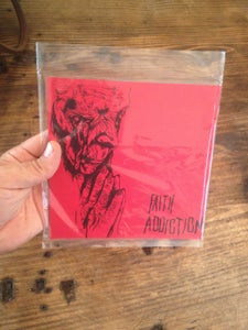 "Image of Faith Addiction square 7"" record"