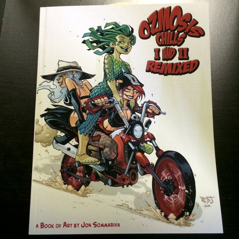 Ozmosis Chills 1 and 2 remixed ART BOOK