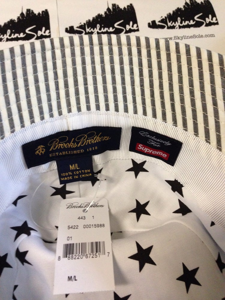 Image of DS Supreme x Brooks Brothers Bucket hat S/S 14