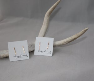 Image of Gold/Rose Gold or Sterling Ear Bars