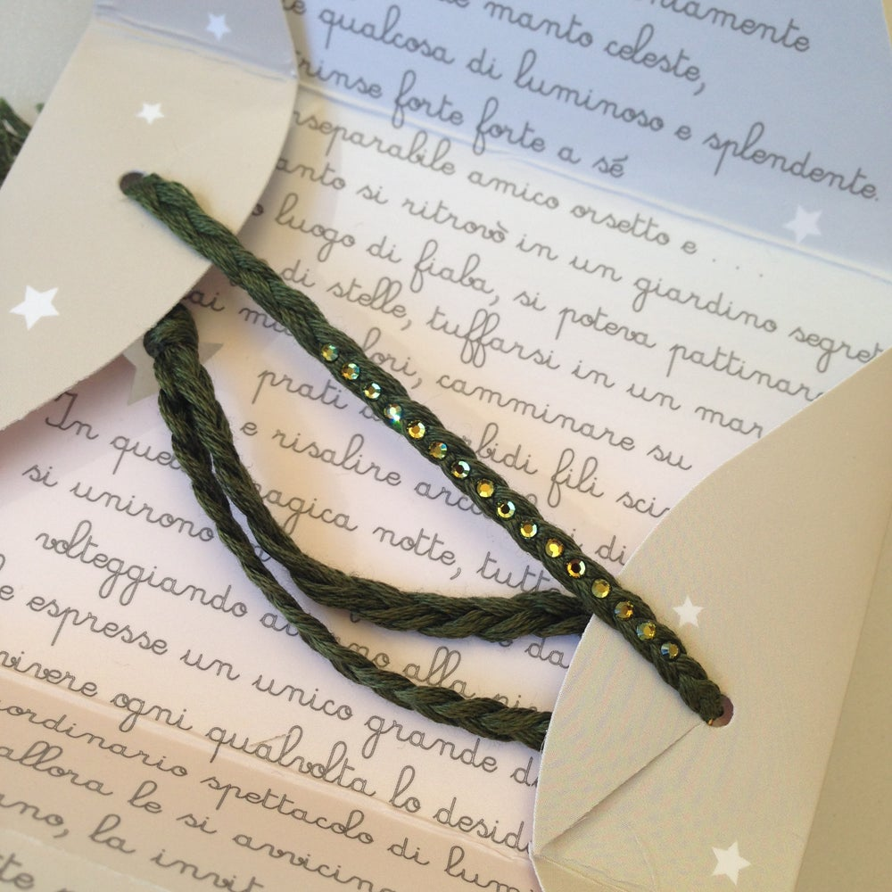 Image of Filo di Stelle 708 - Dark Olive Green
