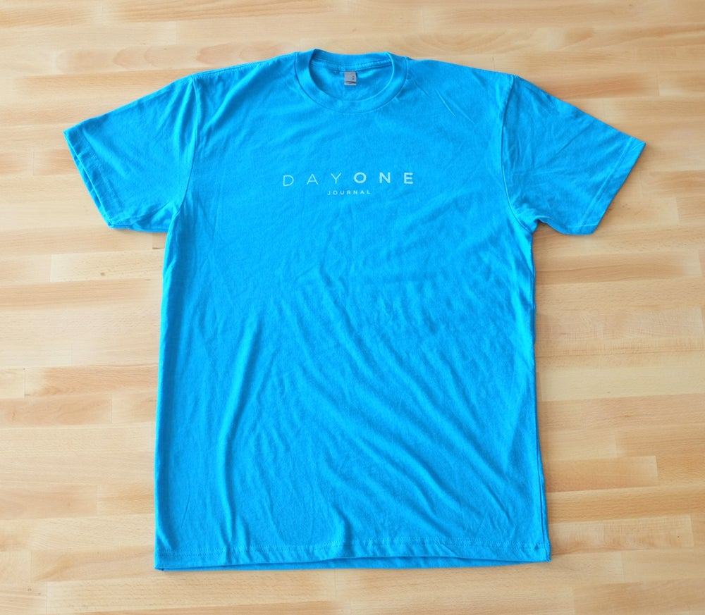 Image of Day One T-Shirt — Turquoise