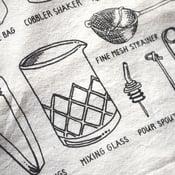 Bar Tools Tea Towel