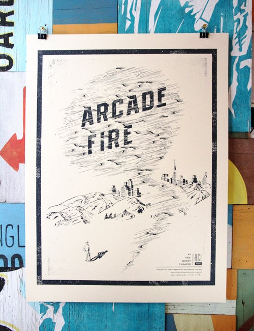 Image of ARCADE FIRE - POSTER