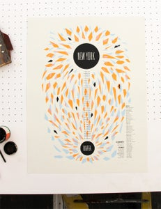 Image of NEW YORK TO MARFA - POSTER