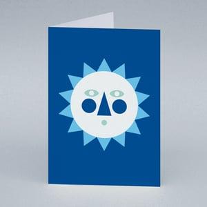 Image of Winter Sun card