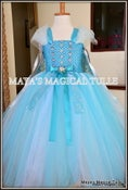 Image of Queen Elsa Inspired Tutu Dress