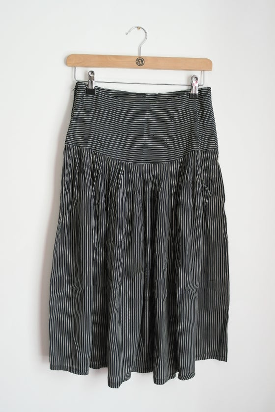 Image of Thin Striped Skirt