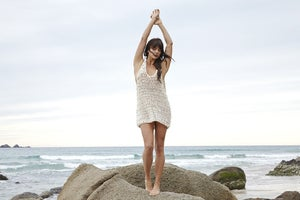 Image of Long Beach Crochet Dress