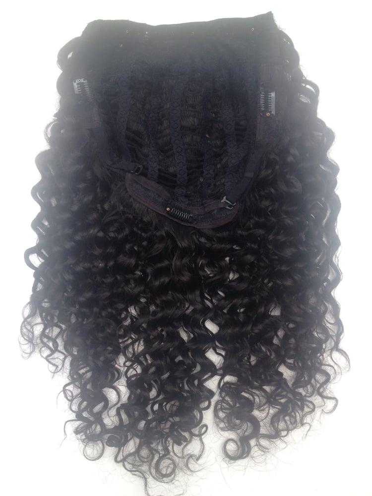 Image of Spiral Curl U-Part Wig