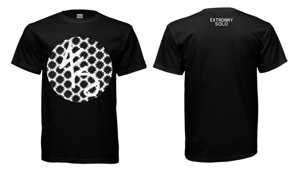 Image of ES Circle Tee - Black