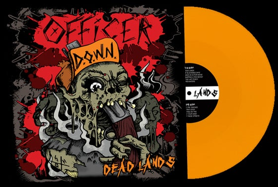 Image of Officer Down - Dead Lands (Vinyl)