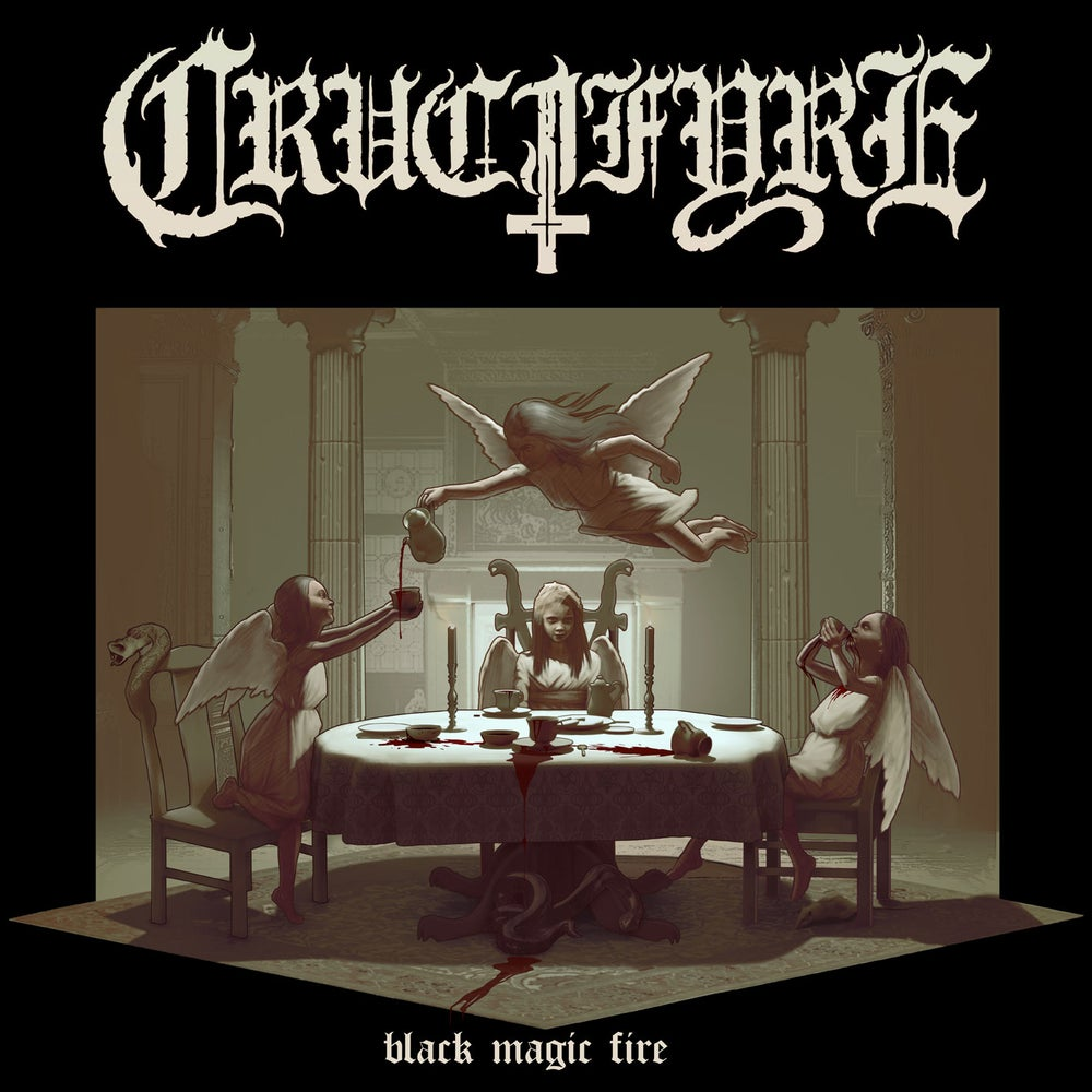 "CRUCIFYRE ""Black Magic Fire"" CD"