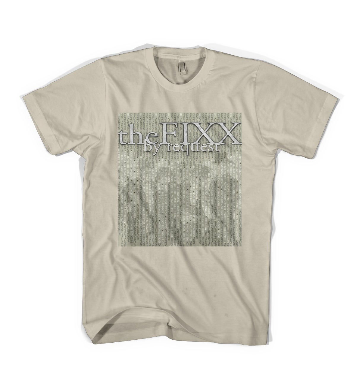 "Image of The Fixx - ""Request"" 2015 Tour Tee"