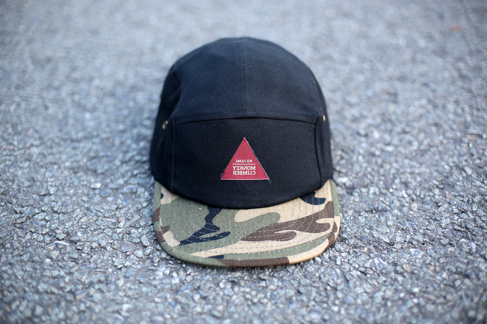 Image of Monkey Climber Ribstop No Fame 5 Panel Cap